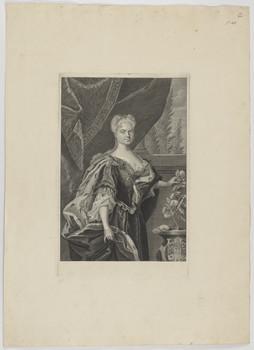 Bildnis der Christiana Friderica, Herzogin zu Sachsen-Merseburg
