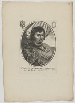 Bildnis des Charles, Dvc de Bovrgongne