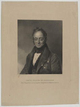 Bildnis des Charles de Nesselrode