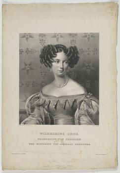 Bildnis der Wilhelmine Luise, Prinzessin Preussen