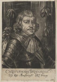 Bildnis des Christophorvs Bernhardvs, Bischof von Münster