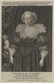 Bildnis der Magdalena Sibylla von Sachsen