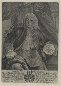 Bildnis des Johann Nicolaus Raab