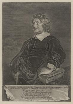 Bildnis des Cyprianus Regnerus ab Oostergoa