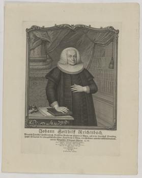Bildnis des Johann Gotthilff Reichenbach