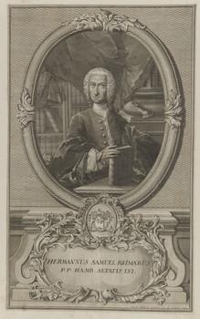 Bildnis des Hermannus Samuel Reimarus