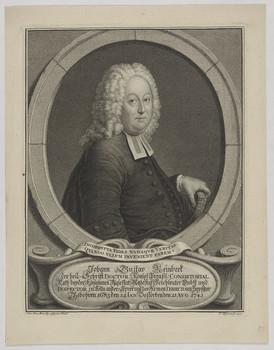 Bildnis des Johann Gustav Reinbeck