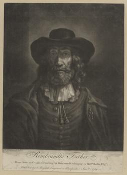 Bildnis des Harmen Gerritszoon van Rijn
