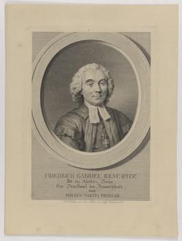 Bildnis des Friederich Gabriel Resewitz