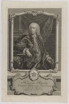 Bildnis des Henricus Rhoden