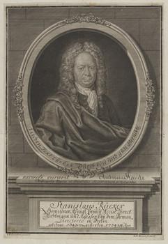 Bildnis des Stanislaus Rücker