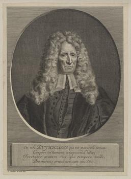 Bildnis des Fridericus Ruysch