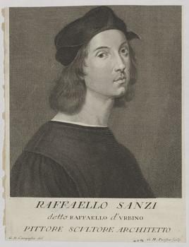 Bildnis des Raffaello Sanzi