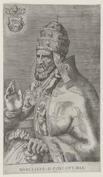 Bildnis des Papst Marcellvs II.