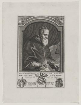 Bildnis des Papst Pivs V.