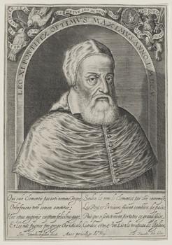 Bildnis des Papst Leo XI.