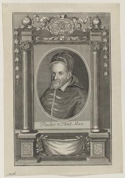 Bildnis des Papst Paulus V.