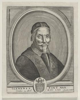 Bildnis des Papst Clemens X.