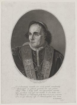 Bildnis des Papst Pius VII.
