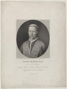 Bildnis des Papst Leo XII.
