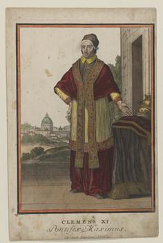 Bildnis des Clemens XI.