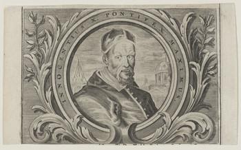 Bildnis des Innocentius X. Pontifex Maximus