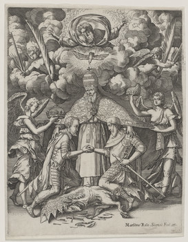 Bildnis des Papst Pius V.