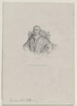 Bildnis des Gregorio XVI.
