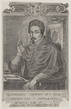 Bildnis des Alesandro VII.