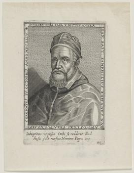 Bildnis des Innocentius Papa X., dictus antea Ioan. Bapt. Pamphilius
