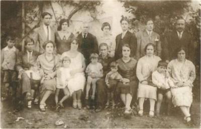 José Bernardino Falcão Ribeiro e família, em Portugal