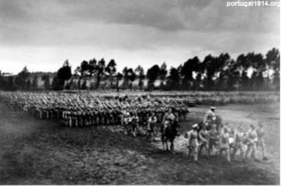 Parada em Montalvo, 1916