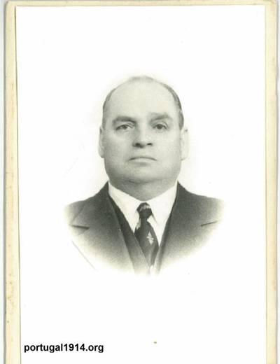 José Maria, sargento na Grande Guerra, anos depois daquele conflito