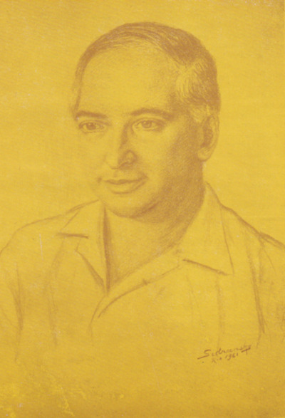 Moyshe Knapheys. portrait
