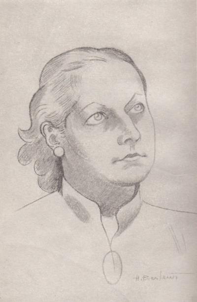 Rivke Kope. portrait