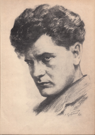 Perets Markish. portrait