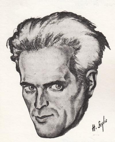 Yitskhok Goldkorn. portrait