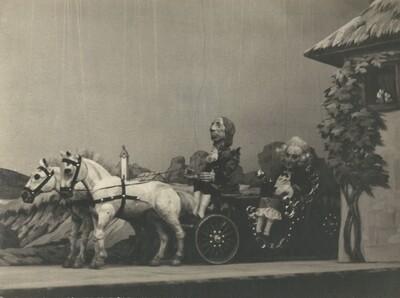 Martin Krpan, Lutkovno gledališče Ljubljana, 1950. Fotografija 3