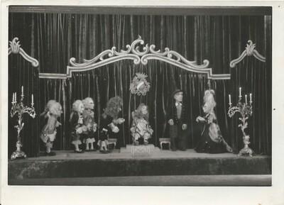 Martin Krpan, Lutkovno gledališče Ljubljana, 1950. Fotografija 17