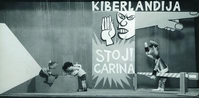 Dva potepina, Lutkovno gledališče Ljubljana, 1959. Fotografija 2