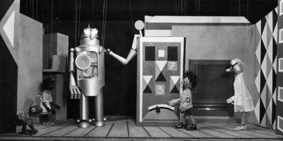 Dva potepina, Lutkovno gledališče Ljubljana, 1959. Fotografija 3