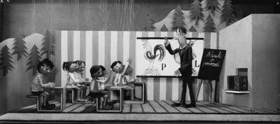 Dva potepina, Lutkovno gledališče Ljubljana, 1959. Fotografija 4