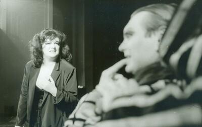 Svetlana Makarovič, Kabaret 91, Slovensko ljudsko gledališče Celje, 1990/91. Fotografija 118
