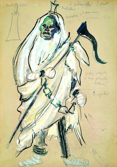 Leoš Janáček: From the House of the Dead. Sketch 2