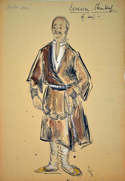 Leoš Janáček: From the House of the Dead. Sketch 8