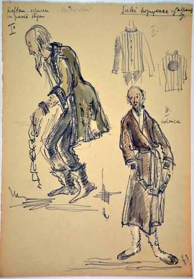 Leoš Janáček: From the House of the Dead. Sketch 10