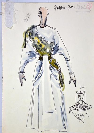 Giuseppe Verdi: Aida. Sketch 1