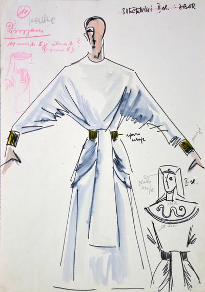 Giuseppe Verdi: Aida. Sketch 2