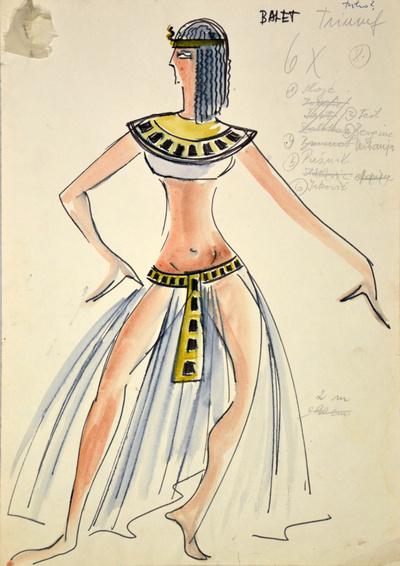 Giuseppe Verdi: Aida. Sketch 4