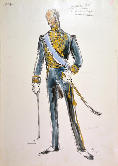 Peter I. Tchaikovsky: Eugene Onegin. Sketch 1